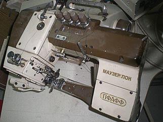 Швейное промышленное оборудование
