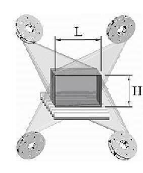Дробеметная установка проходного типа для металлопроката