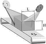Дробеметные установки проходного типа с сетчатой транспортной дорогой
