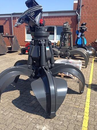 Грейфер HGT MT 4.6-600-5 для металлолома 0,6м3