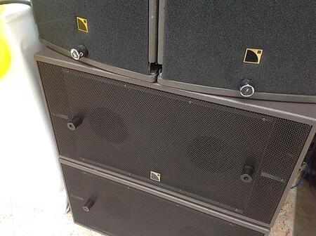 L-acoustics arcs 1 для райдеров