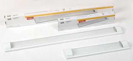 Новый светильник ЛПО от IEK: качество и экономия