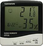 Индикатор температуры и влажности ETP101