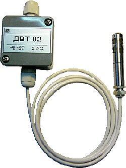 Датчики относительной влажности и температуры микропроцессорные ДВТ-02М