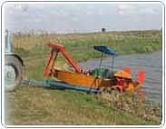 Прицеп ПТК 1, 3 для транспортировки камышекосилки