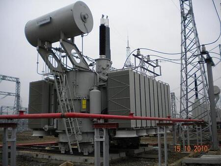 Автотрансформаторы стационарные силовые масляные трехфазные трехобмоточные класса напряжения 150, 220 кВ общего назначения