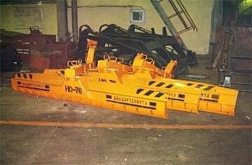 Отвал задний НО-76 на трактор МТЗ