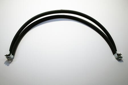Хомуты вентиляционные с резиновым профилем