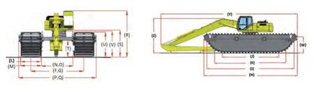 Экскаваторы-амфибии GraffT-Bell