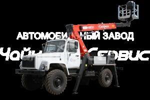 Автогидроподъемник телескопический ГАЗ-33081 Т318, Т315