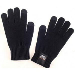 Сенсорные перчатки для смартфонов р. m черные dress cote touchers 1-8-006