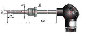 Термосопротивление ДТС 055