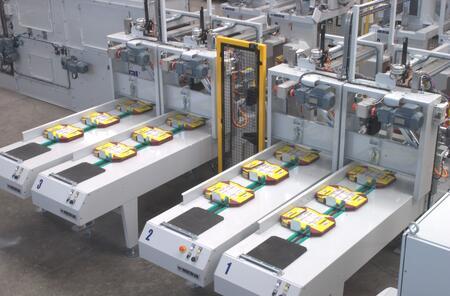 Пневматическая фасовочная машина компании METRAL