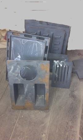 Печное литье, колосники, плиты, решетки, дверцы, конфорки.