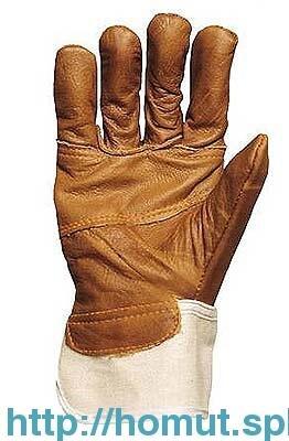 Перчатки кож.утепл.310
