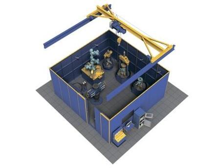 Автоматизированный испытательный комплекс для нефтепромыслового устьевого и противовыбросового оборудования