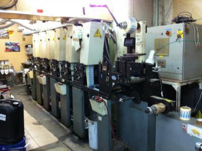 флексографическая печатная машина comco cadet 7