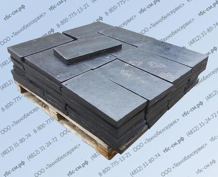 Техпластины для тяжелых и легких отвалов