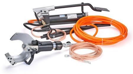 Ножницы гидравлические и аккумуляторные для резки проводов со стальным сердечником, стальных канатов и бронированного кабеля НГПИ-85 (™КВТ)