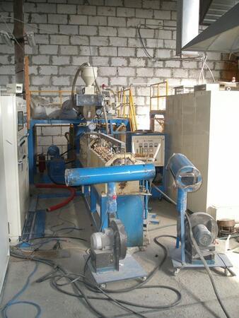Экструзионная линия для производства изделий из вспененного полиэтилена EPE-70
