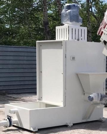 Центрифуга вертикальная для сушки полимерной крошки