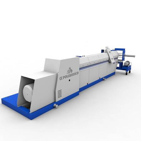 Экструдер (гранулятор) SLE 1-115 для переработки пластика