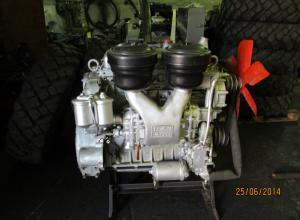 Двигатель ЯАЗ 204 и насос-форсунки АР-20