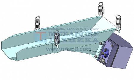 Питатель вибрационный с электромагнитным приводом ПЭ 1,8х6