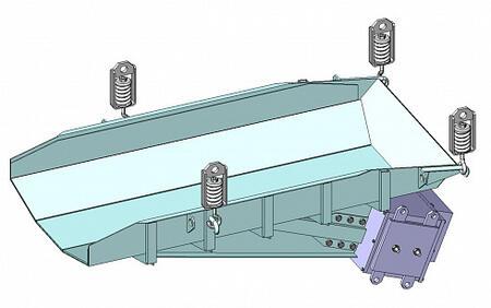 Питатель вибрационный с электромагнитным приводом ПЭ 12х25