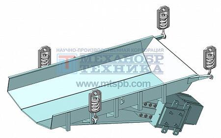 Питатель вибрационный с электромагнитным приводом ПЭ 14х25,5