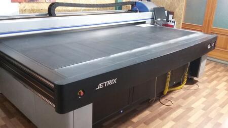 Планшетный УФ-принтер JETRIX 3015 FQ