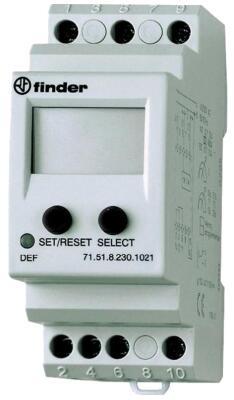Программируемое универсальное реле контроля тока Finder 71.51