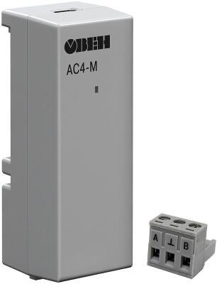 Преобразователь интерфейсов (RS-485/USB) ОВЕН АС4-М