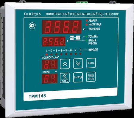 Восьмиканальный ПИД-регулятор с RS-485 ОВЕН ТРМ148