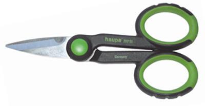 Кабелерез двухкомпонентные ножницы с мягкими ушками Haupa 200155