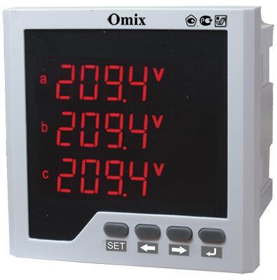 Мультиметр трехфазный щитовой Omix P99-ML-3-0.5-RS485
