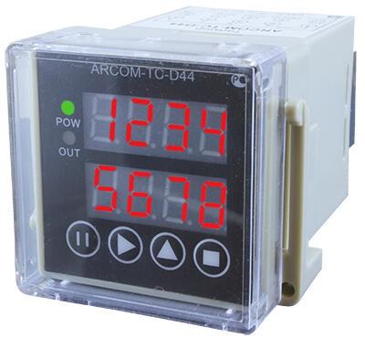 Универсальное реле времени-счетчик импульсов-времени наработки-тахометр ARCOM-TC-D44