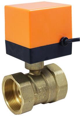 Кран шаровой неполнопроходной с электроприводом AR500-2