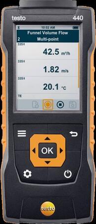 Прибор для измерения скорости и оценки качества воздуха в помещении Testo 440 (0560 4401)