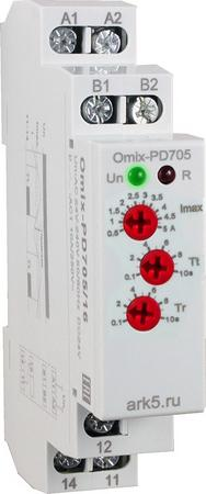 Реле контроля максимального тока Omix-PD-705