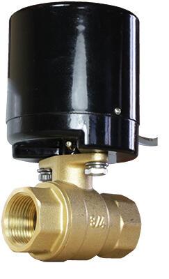 Кран шаровой полнопроходной с электроприводом AR200-2