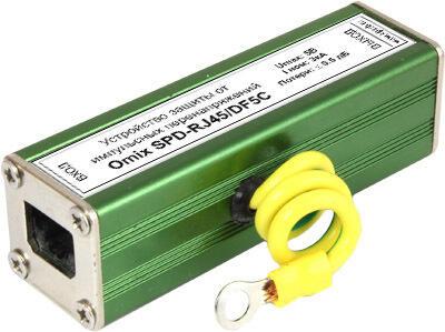 Устройство защиты от импульсного перенапряжения Omix-SPD-RJ45C