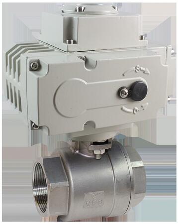 Кран шаровой КПР-2 с электроприводом ЭПР3