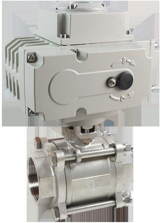 Кран шаровой КПР-3 с электроприводом ЭПР3