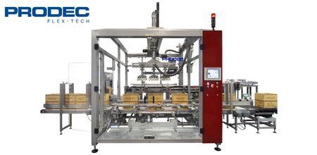 Автоматы для упаковки в американский гофрокороб Prodec
