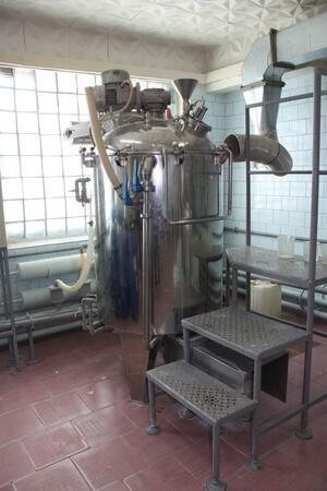Реактор объемом 1250 л Р-1250