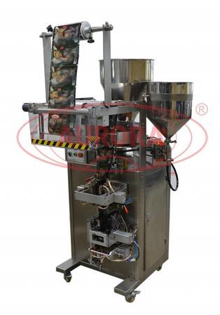 Автоматическая машина МАСТЕР МЗ-400ЕД для фасовки жидких и сыпучих продуктов в пакеты