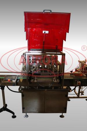 Полуавтоматическая линия розлива «МАСТЕР -ГУД» для продуктов жидкой и средневязкой консистенции
