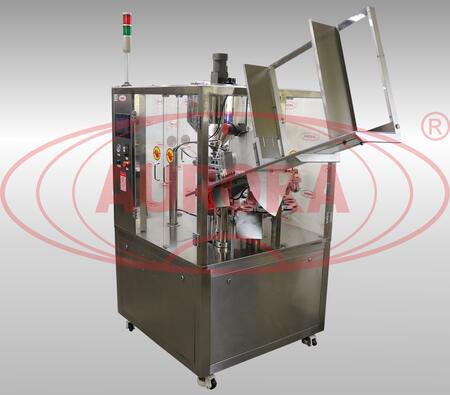 Моноблок для алюминиевых туб Мастер с автоматической подачей туб мод. МЗ-400ЕД с функцией подогрева и обдува