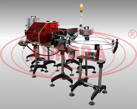 Перистальтический двухсопельный дозатор высокой точности МДП-200Л с защитным кожухом